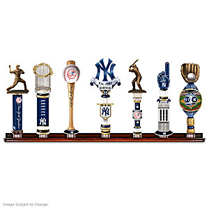 Yankees Vintage-Style Tap Handles With Display