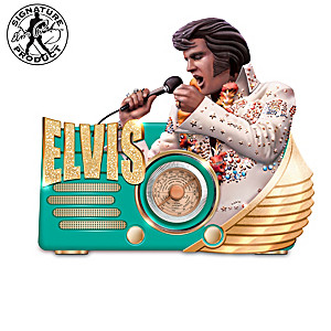 """Elvis """"King Of The Radio"""" Musical Sculptures"""