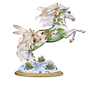 "Laurie Prindle ""Christmas Spirits"" Sculpted Pony Collection"