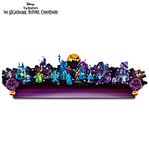 The Nightmare Before Christmas Blacklight Garland Collection