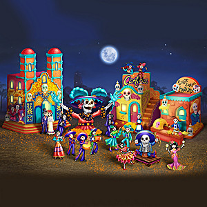 Day Of The Dead Illuminated Village Collection