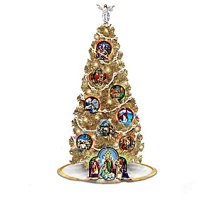 """Life Of Christ"" Illuminated Christmas Tree Collection"