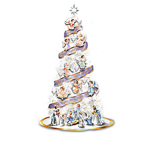 """Dona Gelsinger """"Heavenly Angels"""" Christmas Tree Collection"""