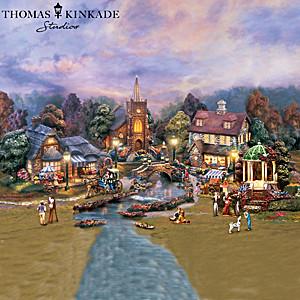"Thomas Kinkade ""Lamplight Village"" Sculpture Collection"
