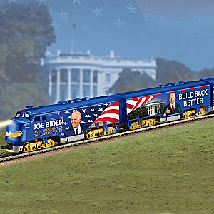 """The President Biden Express"" Illuminated Electric Train"