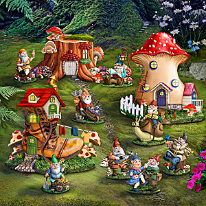 """Toadstool Hollow"" Indoor/Outdoor Village Collection"