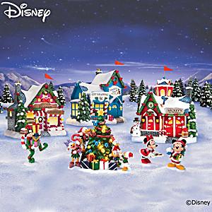 Disney Very Merry Holiday Illuminated Village Collection