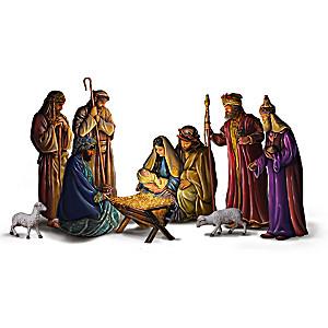 Greg Olsen Blessed Nativity Figurine Collection