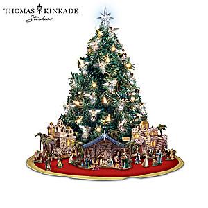 Thomas Kinkade Divine Blessings Christmas Tree Collection