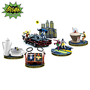 BATMAN & ROBIN Figurine Collection With Lights And Music