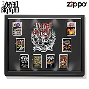 Lynyrd Skynyrd Zippo® Lighter Collection With Display