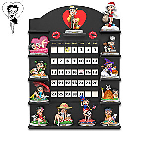 Betty Boop Perpetual Calendar Collection With Display