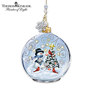 Thomas Kinkade Winter Delights Ornament Collection