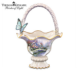 "Thomas Kinkade ""Sweet Tranquility"" Ceramic Bowl Collection"