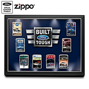 Ford® Truck Zippo® Lighters With Lighted Display