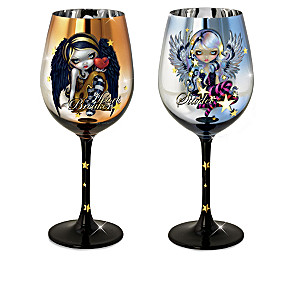 Jasmine Becket-Griffith Fairy Art Wine Glass Collection
