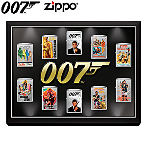 James Bond 007™ Zippo® Lighters And Lighted Display