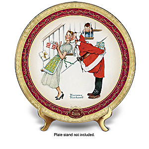 "Norman Rockwell ""Christmas Memories"" Annual Plate Collection"