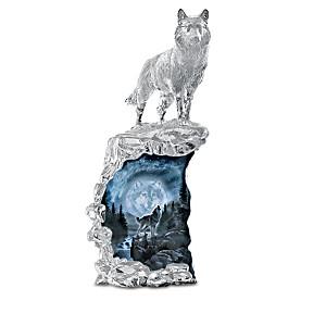 Al Agnew Moonlight Splendor Illuminated Sculpture Collection