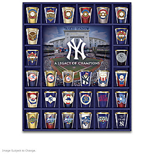 New York Yankees Legacy Shot Glass Collection