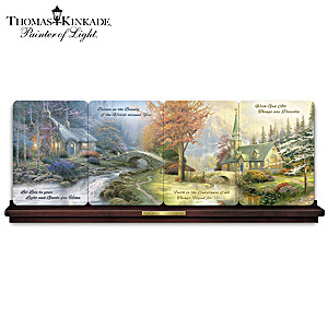 "Thomas Kinkade ""Inspirations Of Faith"" Panorama Collection"