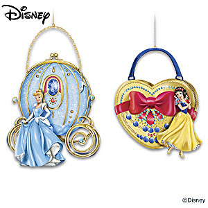 "Disney ""Carry The Magic"" Purse-Shaped Ornament Collection"