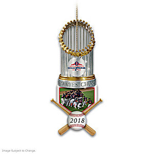 Red Sox World Series Champions Ornament Collection