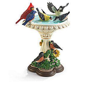 """The Garden's Birds"" Songbird Sculpture Collection"
