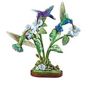 Birds And Blossoms Hummingbird Sculpture Collection