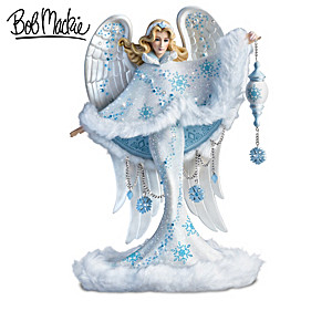 Bob Mackie Winter Wonderland Angel Figurine Collection