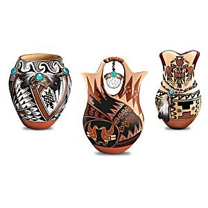 Pueblo-Style Replica Pottery Collection