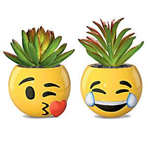 Emoji Succulents Collection