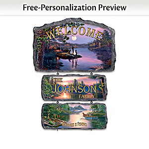 James Meger Outdoor-Lifestyle Personalized Welcome Sign