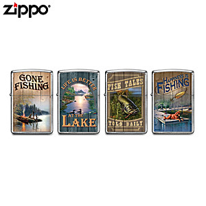"James Meger ""Lure Of Fishing"" Zippo® Lighter Collection"