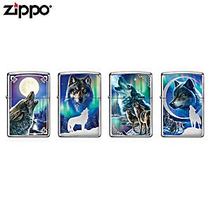 James Meger Wolf Art Zippo® Lighter Collection