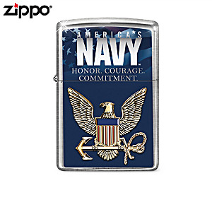 U.S. Navy® Tribute Zippo® Lighter Collection