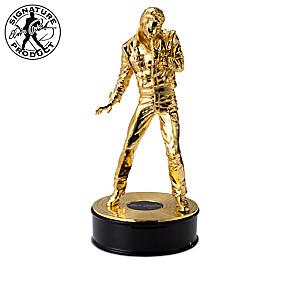 Elvis 85th Birthday Anniversary Cast-Metal Sculptures