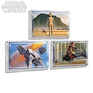 STAR WARS Concept Art Metal Print Wall Decor Collection