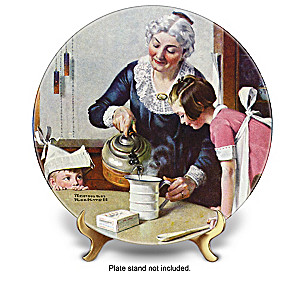 "Norman Rockwell ""Heritage"" Annual Collector Plate Collection"