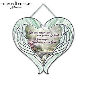 Thomas Kinkade Inspirational Glass Suncatcher Collection