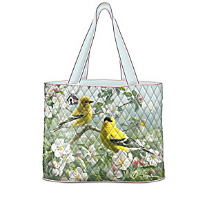 James Hautman And Joe Hautman Songbird Art Tote Collection