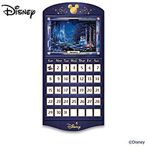 Disney Perpetual Calendar Collection With Thomas Kinkade Art