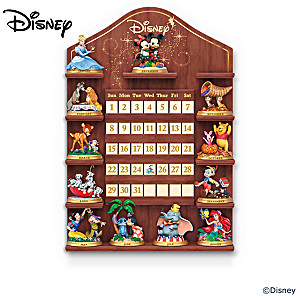 "Disney ""Magical Moments"" Perpetual Calendar With Display"