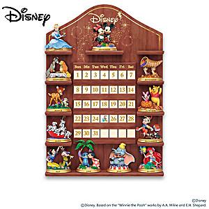 "Disney ""Magical Moments"" Perpetual Calendar With Display"