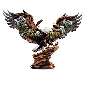 """""""Wings Of Nature"""" Eagle Sculpture Collection"""