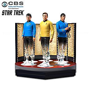 "STAR TREK ""To Boldly Go"" Transporter Figurine Collection"