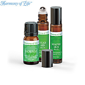 """Mind And Body"" Essential Oils Kit Collection"