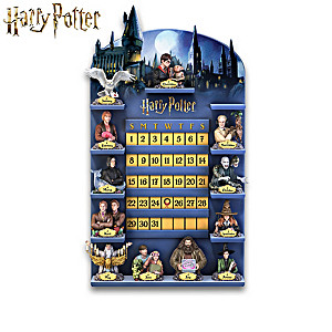 HARRY POTTER Perpetual Calendar Collection And Display
