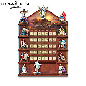Thomas Kinkade Life Of Christ Perpetual Calendar And Display