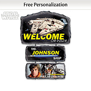 STAR WARS Personalized Welcome Sign Collection